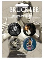 Button Set Bruce Lee