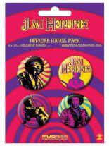 Button Set Jimi Hendrix