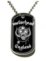 Erkennungsmarke Motörhead England Dog Tag Halskette