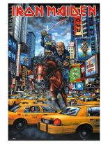 Poster Iron Maiden New York