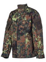 Kinder Militär Jacke und Hose Flecktarn