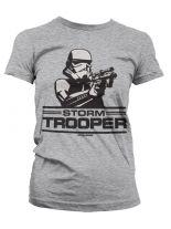 Star Wars Girlie T-Shirt Aiming Stormtrooper