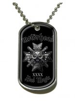 Erkennungsmarke Motörhead Bad Magic Dog Tag Halskette