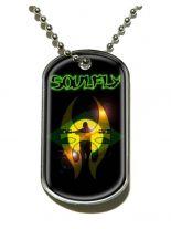 Erkennungsmarke Soulfly Sun Silhouette Dog Tag Halskette