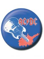 2 Button ACDC Gitarre