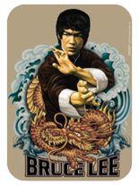 3 Aufkleber Bruce Lee Dragons