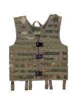 Armee Weste Molle HDT-camo FG mit Modular System