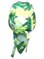 Bandana Cap Kinder Hanf grün