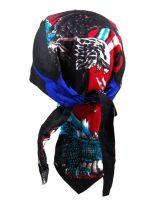 Bandana Cap Adler schwarz blau