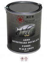 Militär Farbdose Army 1 Liter Wald grün