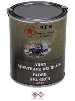 Militär Farbdose Army 1 Liter NVA grün