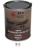 Militär Farbdose Army 1 Liter braun