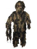 Scharfschützen Tarnanzug Ghillie Suit woodland