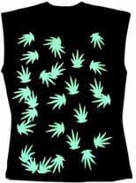 Ärmelloses Shirt Marijuana