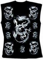 Ärmelloses Shirt Drachen