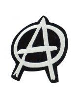 Aufbügler Anarchy Logo schwarz