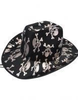 Cowboyhut mit Totenköpfen