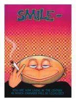 3 Smile bro Postkarten