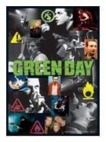 3 Green Day Fotos Postkarte