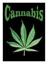 3 Cannabis pro Postkarten