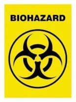 3 Biohazard Postkarten