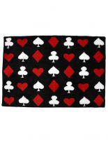 Badematte Kartenspiel