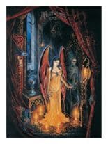 3 Alchemy Todesengel Postkarten