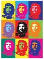 3 Aufkleber Che