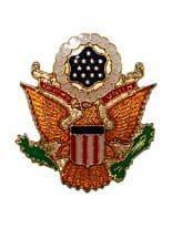 Anstecker Siegel Wappen Amerika