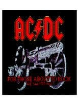 Aufnäher ACDC For Those About