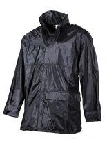 Regenjacke schwarz