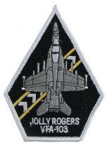 Stickabzeichen VFA-103 Jolly Rogers