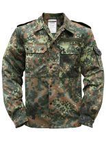 Bundeswehr Feldjacke flecktarn gebraucht