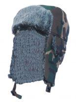 Wintermütze camouflage