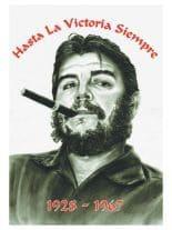 Che Guevara Hasta la Victoria Siempre Posterfahne