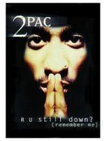 2 Pac Poster Fahne RU Still down