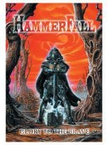 Hammerfall Poster Fahne Glory to the Brave