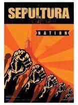 Sepultura Poster Fahne Nation