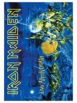Iron Maiden Poster Fahne Live after Death