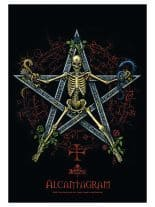 Alchemy Posterfahne Alcantagram