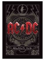 ACDC Poster Fahne Black Ice