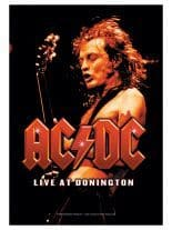 ACDC Poster Fahne live at Doningten