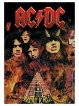 ACDC Poster Fahne Highway to hell