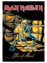 Iron Maiden Poster Fahne Piece of Mind
