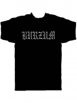 Burzum T-Shirt schwarz Logo