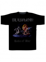 Blasphemy T-Shirt Gods of War schwarz Gr. XL