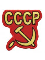 Aufnäher CCCP rot