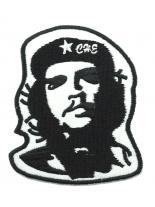 Aufnäher Che-Guevara-schwarz-weiß