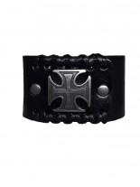 Leder Armband Iron Cross