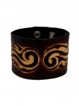 Kunstleder Armband Tribal Flame